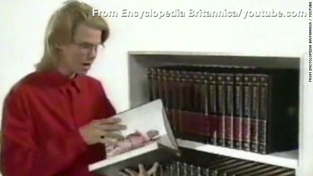 RidicuList: Britannica ends print copies