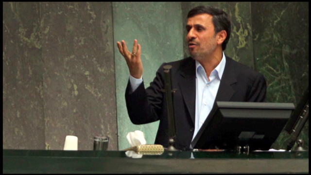 Iran's Ahmadinejad grilled by lawmakers