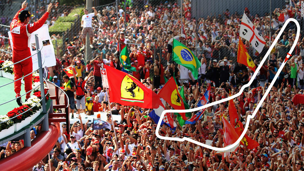 <strong>Italian Grand Prix:</strong> September 9, Monza  <strong>2012 champion:</strong> Lewis Hamilton, McLaren
