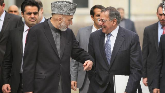 Karzai urges U.S. pullback