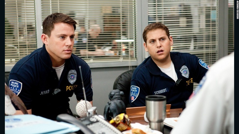 "Of the three films Channing Tatum, left, starred in this year, ""21 Jump Street"" was widely received as a defining moment for the 32-year-old star, who's since been named <a href=""http://marquee.blogs.cnn.com/2012/11/14/channing-tatum-named-sexiest-man-alive/?iref=allsearch"" target=""_blank"">People magazine's sexiest man</a>. We saw the writing on the wall after this comedy with Jonah Hill arrived, and called<a href=""http://www.cnn.com/2012/06/28/showbiz/channing-tatum-magic-mike-career/index.html?iref=allsearch"" target=""_blank""> 2012 a standout year for the actor.</a>"