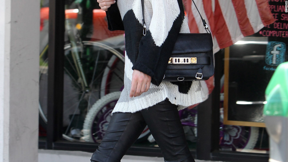 Nicky Hilton goes shopping in Beverly Hills.