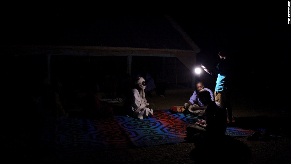CNN traveled to Mauritania in December 2011; foreign journalists aren't allowed to talk about slavery, and the reporters had to conduct many interviews at night and in secret.