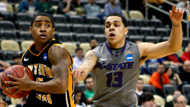 Southern Miss pep band members yelled the chant at Angel Rodriguez, right, during a game in Pittsburgh on Thursday.