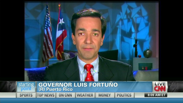 Fortuño: We're proud to be Americans