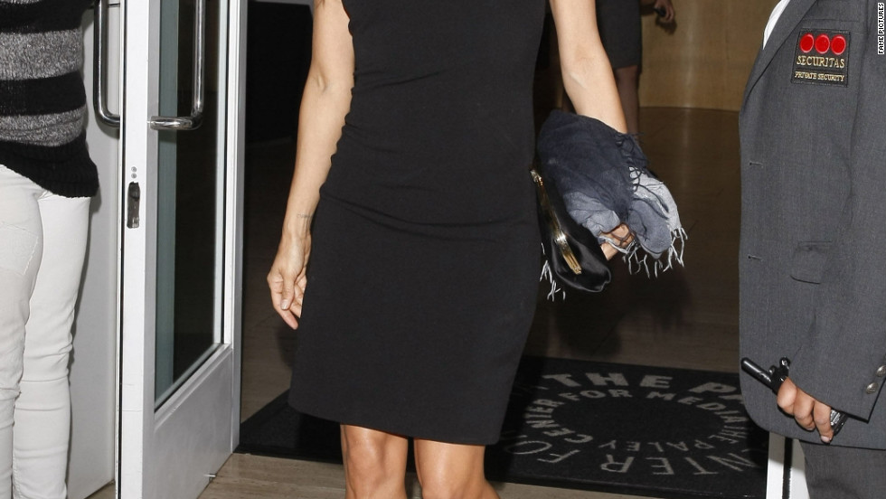 Eva Longoria attend an event at the Paley Center in Beverly Hills.