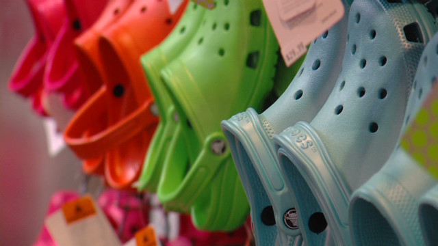 Crocs make a comeback