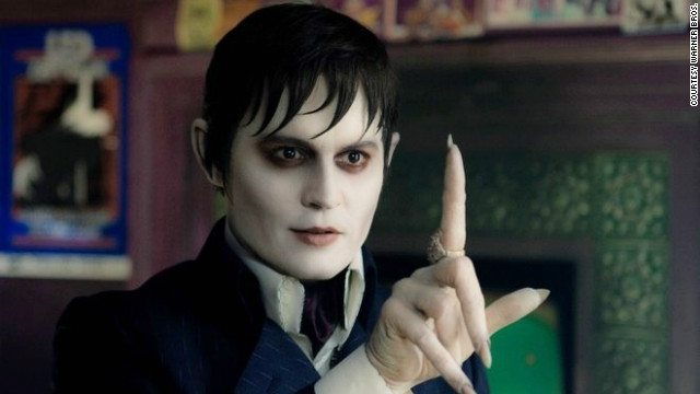 "Johnny Depp stars as Barnabas Collins in Tim Burton's ""Dark Shadows."""