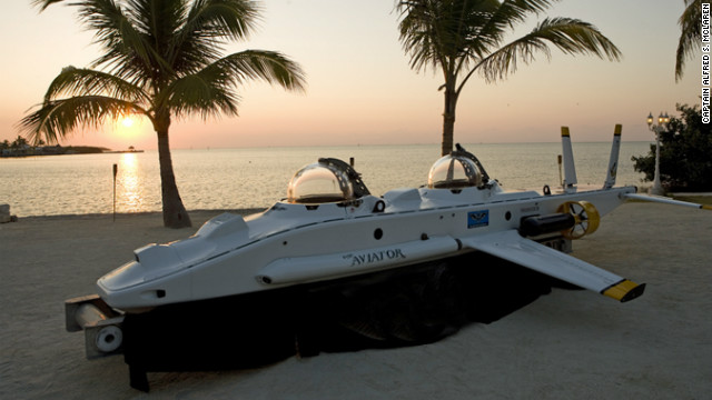 High-tech submersibles such as the Super Aviator could be the future of deep sea ocean tourism.