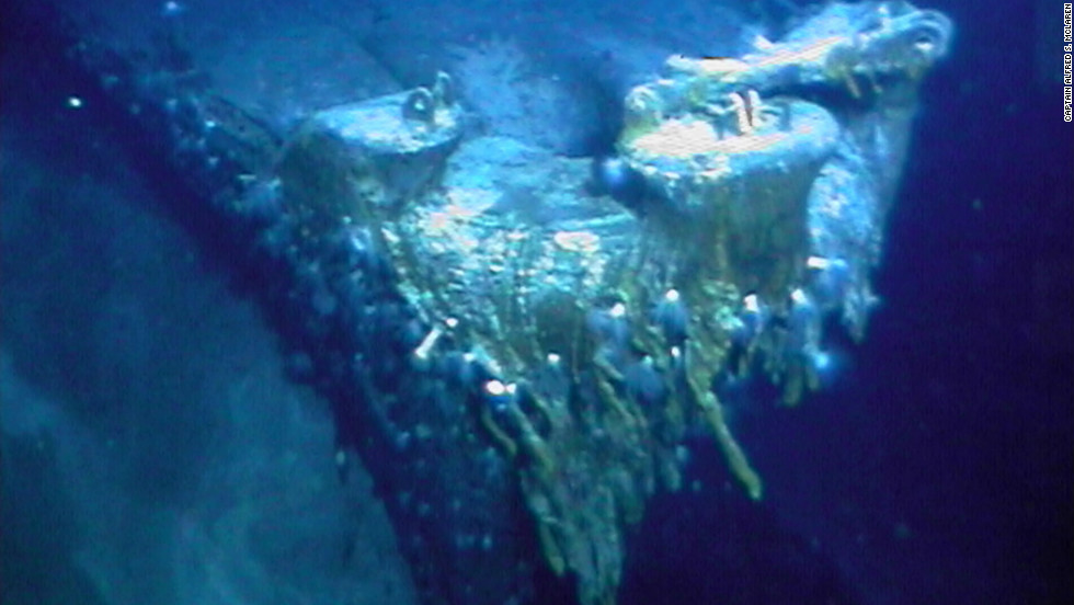 Bismarck is a menacing but remarkably well-preserved shipwreck, says Capt. MacClaren.