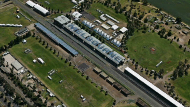 Flyover: Australian Grand Prix