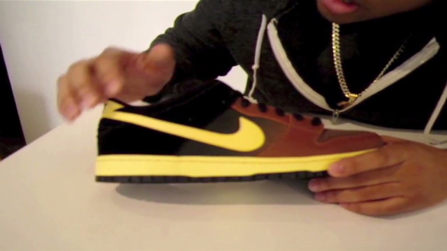 pkg boulden nike black and tan shoe controversy in ireland_00001213