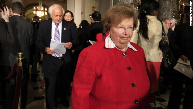 Mikulski sets record on Capitol Hill