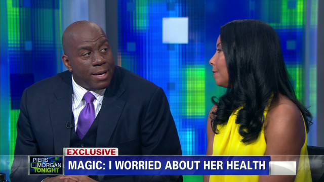 Magic Johnson and wife Cookie on HIV