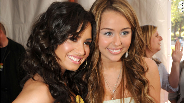 Demi Lovato and Miley Cyrus have used social media to send positive messages about body image.