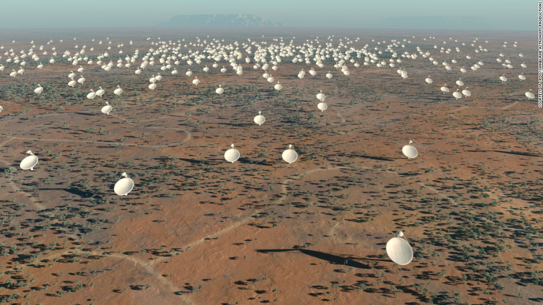 South Africa's Karoo desert will be home to the Square Kilometer Array, a cluster of 3,000 satellite dishes working in tandem over a square kilometer area.