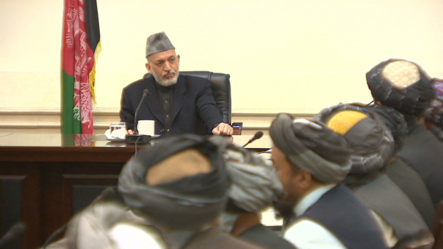 Karzai meets massacre victims' families