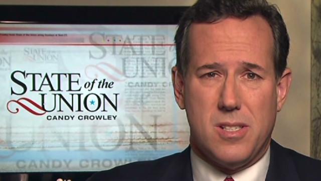 Santorum: Presidency is not a business