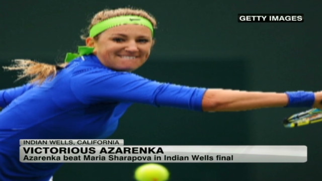 No. 1 Azarenka extends winning run