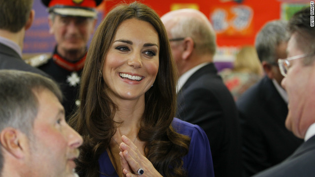 Critiquing Duchess' first royal speech