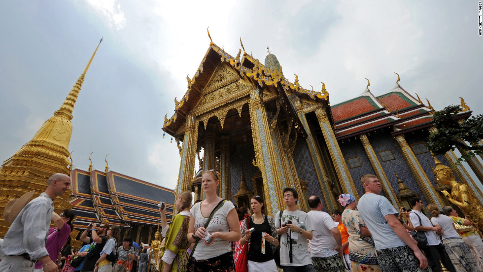 <strong>Visitors: 15.8 million</strong><strong><br />Growth: 14.6% </strong><br />Wat Phra Kaew (Temple of the Emerald Buddha) is one of many popular attractions in Bangkok.