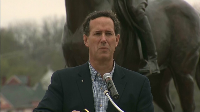 Santorum: Romney 'abandoned freedom'