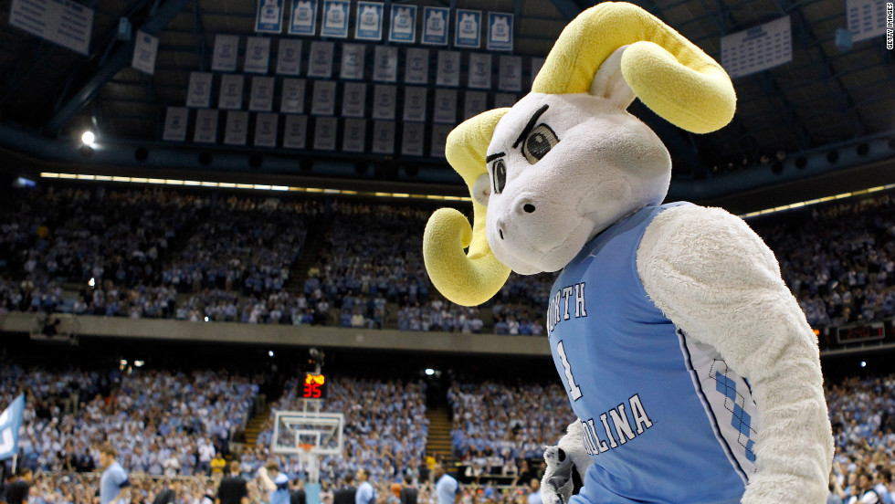 Rameses and the top-seeded North Carolina Tar Heels will face Ohio in the Sweet 16.