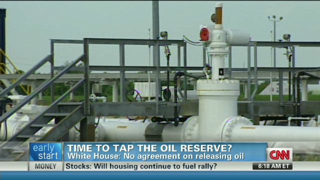 Open oil reserves to stop prices rising?