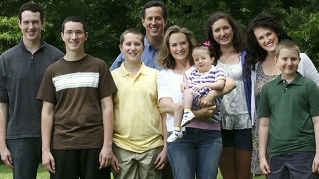piers karen santorum daughters health _00011621