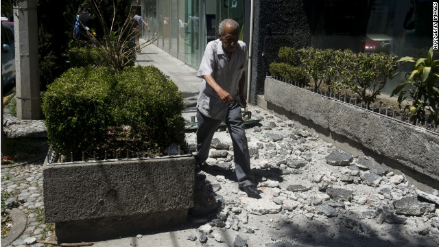 Mexico quake among resident's 'Top 5'
