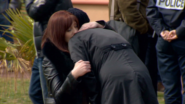 Grief on public display in Toulouse