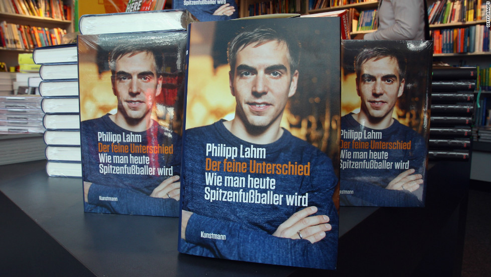 Bayern Munich captain Philipp Lahm completes the top 10. The Germany skipper attracted controversy last year for releasing a book in which he criticized the training techniques of former Bayern coaches Jurgen Klinsmann and Felix Magath.