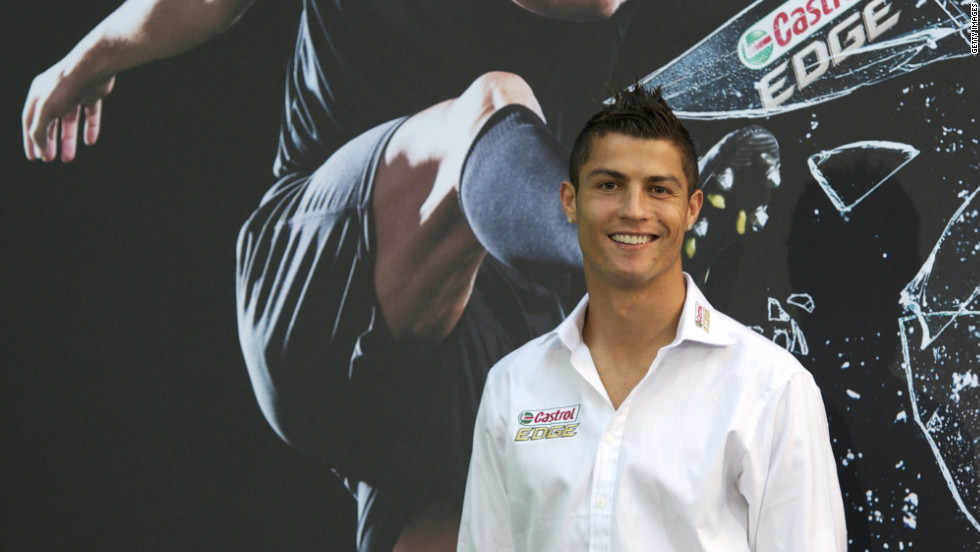 Real Madrid's Cristiano Ronaldo became the world's most expensive player when he joined the Spanish giants from Manchester United in 2009 for a reported $130 million.The Portugal forward's silky skills and prolific goalscoring also help him to attract sponsorship deals, such as the one he has with his boot manufacturer Nike.