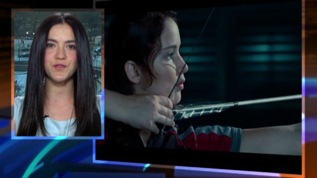 Isabelle Fuhrman talks 'Hunger Games'