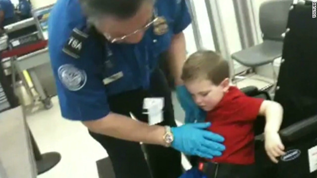 Father: TSA agent's actions 'intrusive'