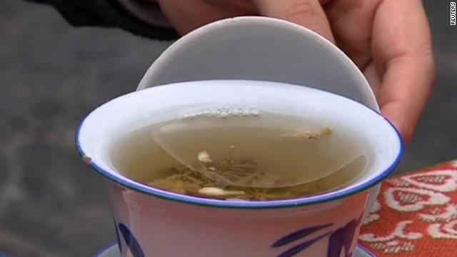 Pricey panda poo tea debuts in China