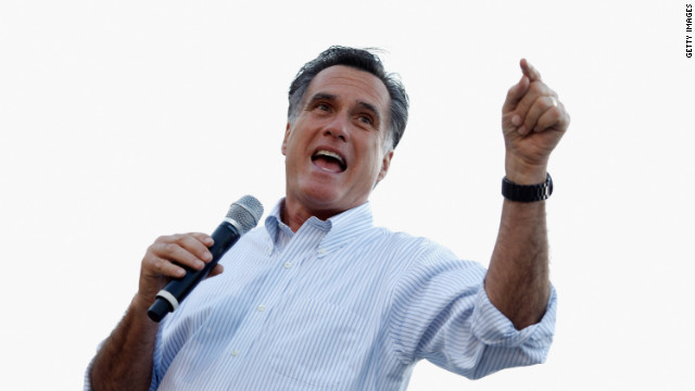 Mitt Romney holds a town-hall campaign meeting this week in Peoria ahead of the Illinois primary.