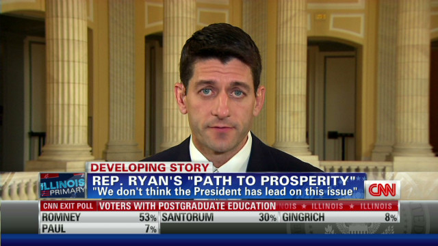 Rep. Paul Ryan on GOP budget plan