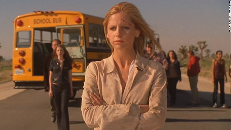 "Five years after the movie ""Buffy the Vampire Slayer"" (1992) was released, Joss Whedon took his story about a young empowered woman who battles vampires and other forces of darkness to TV. The series followed Buffy Summers, played by Sarah Michelle Gellar, continuing her slayer duties in Sunnydale. ""Buffy the Vampire Slayer"" ended in 2003."