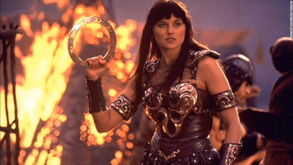"Lucy Lawless found fame on TV as the force of nature that was ""Xena, Warrior Princess."""
