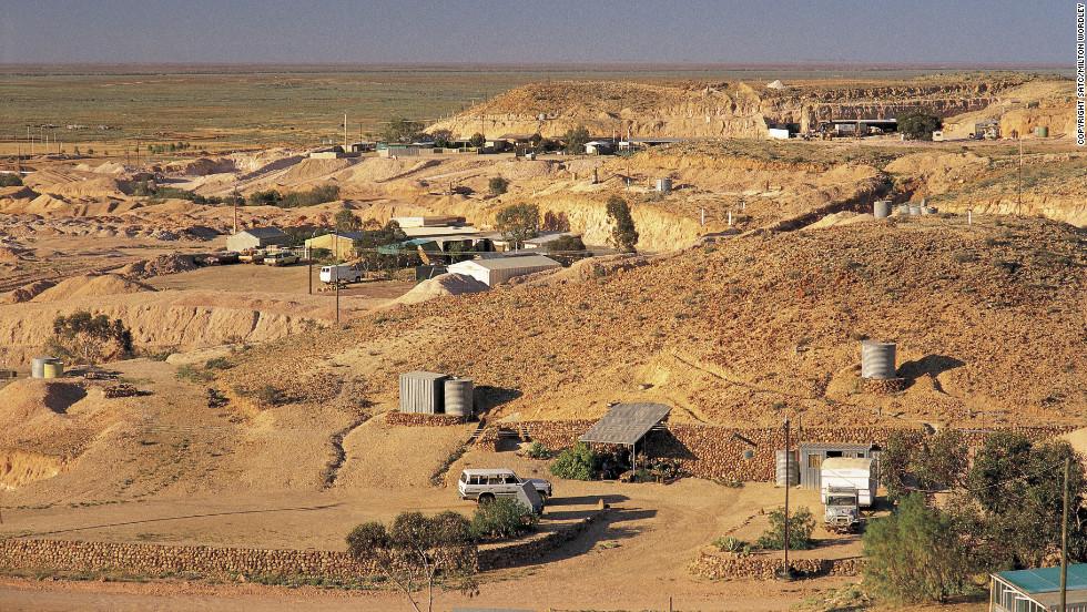 "Coober Pedy is known as ""the opal capital of the world."""