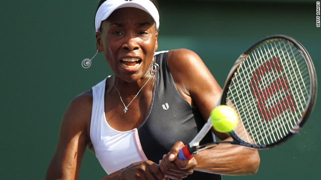 Venus Williams has been out of tennis for over six months after being diagnosed with Sjogren's syndrome