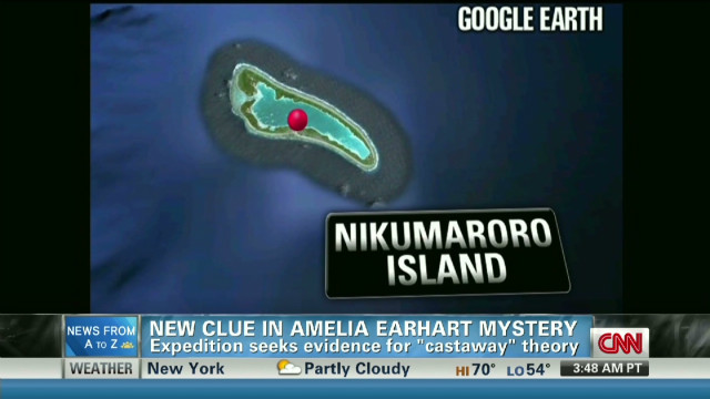 New search for Amelia Earhart's plane
