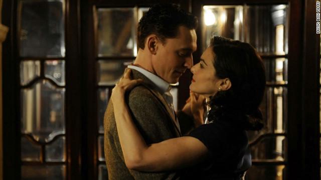 "Tom Hiddleston and Rachel Weisz star in ""The Deep Blue Sea."""