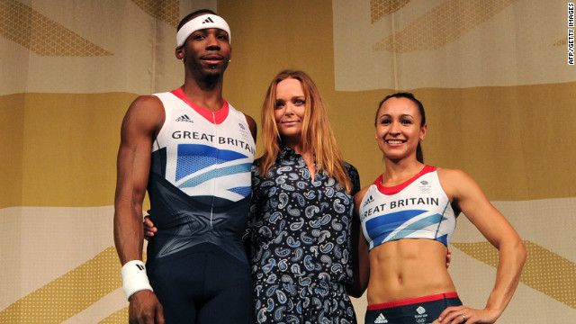 Stella McCartney unveils UK Olympic kits