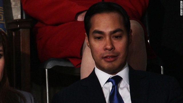 San Antonio Mayor Julian Castro has struggled, along with his citizens, over the implications of re-creating a controversial mural.