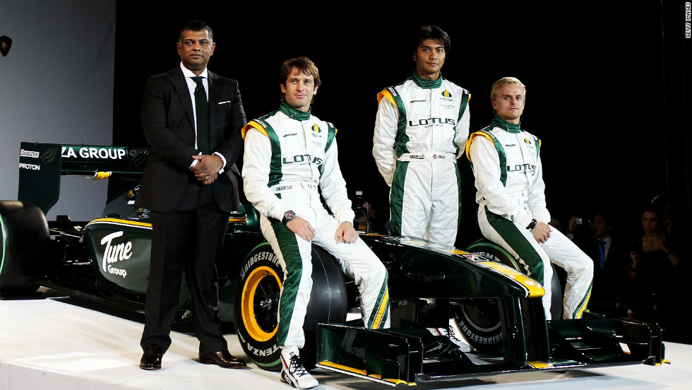 "After withdrawing from the sport in 1994, the Lotus name returned to Formula One in 2010. Malaysian businessman Tony Fernandes bought the rights to the ""Team Lotus"" name."