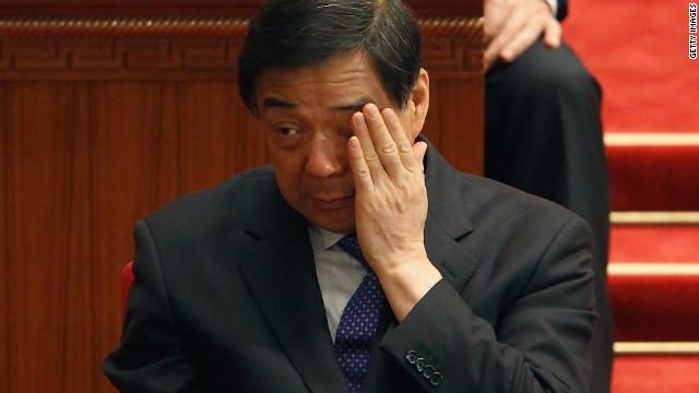 Bo Xilai's foothold near the summit of the Chinese Communist Party started to crumble recently