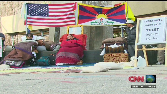 Tibetan hunger strikes ends