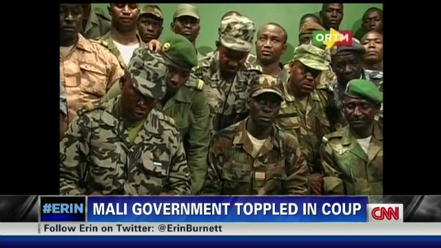Erin Burnett's message for Mali